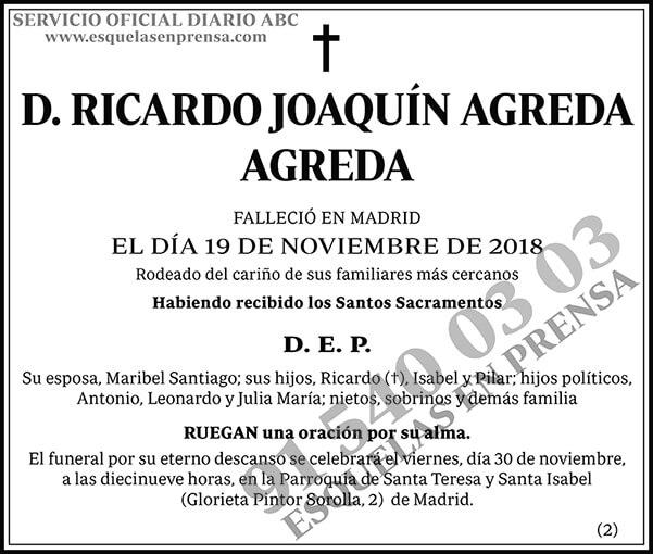 Ricardo Joaquín Agreda Agreda